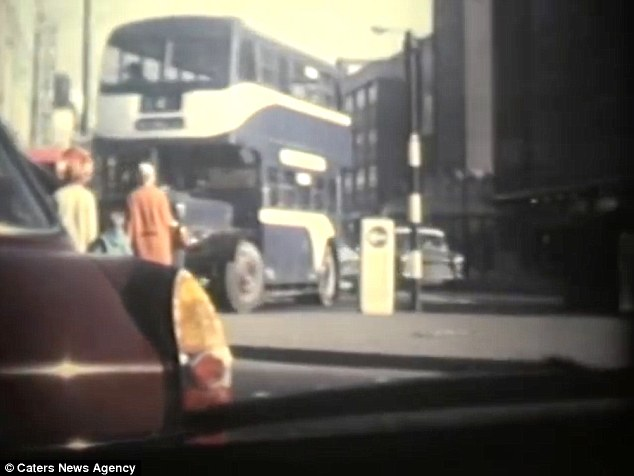 On camera: A bag of old cine films contained what could be the world's first dashcam footage