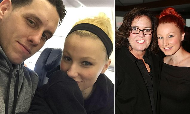 Rosie O'Donnell's daughter, 19, secretly married a plumber 12 years her senior