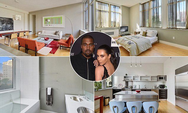 Kanye West took out $2m loan for NY apartment before Kim Kardashian robbery