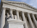 FILE  - The Supreme Court in this Feb. 17, 2016 file photo. The Supreme Court is hearing an appeal from Colorado that claims a juror¿s ethnic slurs during de...