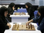 Iranian chess players opposed a campaign launched in the United States against the holding of the Women's World Championship in February in Tehran