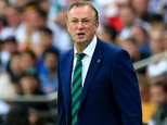 Michael O'Neill is excited about the prospect of Northern Ireland meeting Germany again