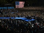 US Democratic presidential candidate Hillary Clinton speaks during a rally at Ohio State University in Columbus, on October 10, 2016 ©Timothy A. Clary (AFP)