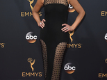 FILE - In this Sunday, Sept. 18, 2016, file photo, Nancy O'Dell arrives at the 68th Primetime Emmy Awards at the Microsoft Theater in Los Angeles. O'Dell of ...
