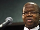 FILE - In this Oct. 15, 2014 file photo, Brooklyn District Attorney Ken Thompson speaks during a press conference in New York where he said he would  ask a j...