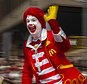 FILE - In this Thursday, Nov. 26, 2015, file photo, Ronald McDonald waves to the crowd during the Macy's Thanksgiving Day Parade, in New York. McDonald¿s says Ronald McDonald is keeping a low profile with reports of creepy clown sightings on the rise. McDonald¿s Corp. said Tuesday, Oct. 11, 2016, that it is being ¿thoughtful in respect to Ronald McDonald¿s participation in community events¿ as a result of the ¿current climate around clown sightings in communities.¿ The company did not provide any other details about how often its red-haired mascot makes appearances, and how that will change. The move comes after a rash of hoaxes and pranks about scary clown sightings around the country, which have forced police to check for real threats. (AP Photo/Andres Kudacki, File)