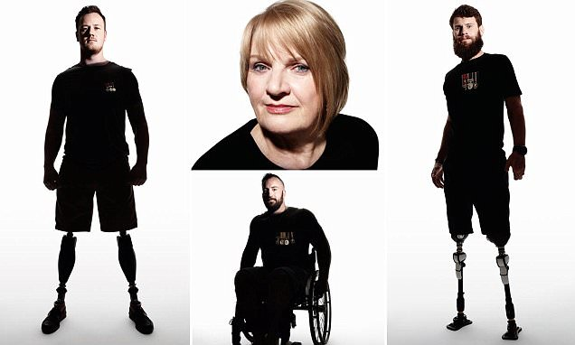 Photographer Rankin captures powerful images of servicemen injured on duty