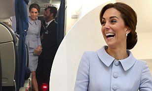 Kate visits The Hague and Rotterdam for first solo trip without William