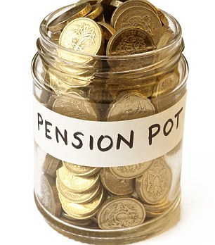 Good investment: A pension might sound a bit premature, but the longer you leave money invested, the more time it has to grow
