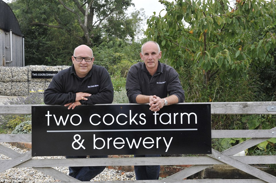 The entrepreneurial couple renamed the farm and the brewery business that is based at the property