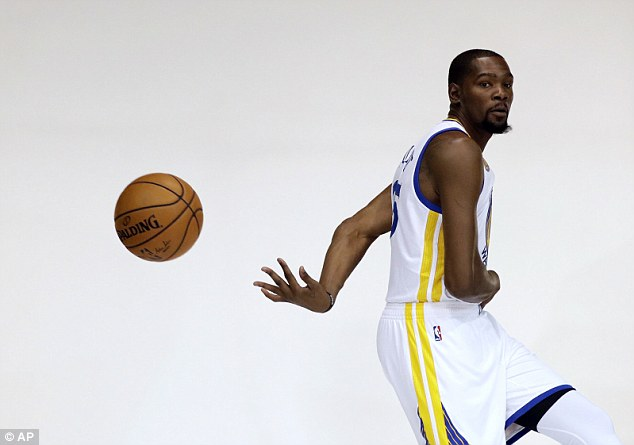 Durant has joined the Warriors as he seeks his first-ever NBA championship