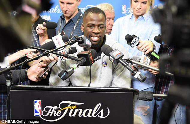 Warriors star Draymond Green will feature in Game 6 after missing Game 5 due to a suspension