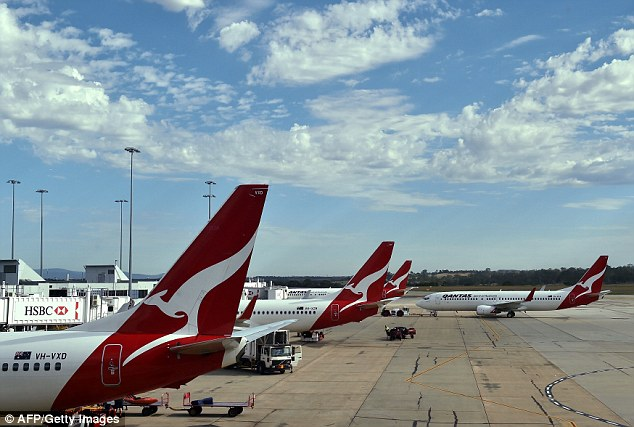 QF 825 was an hour into its flight when a fault developed with the air conditioning and the captain made the decision to return the flight to Darwin
