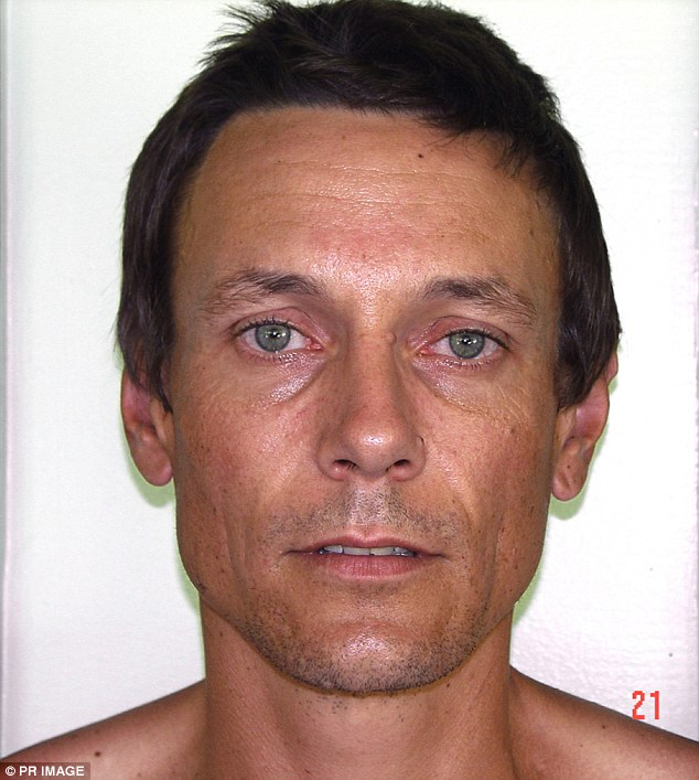 The paedophile was released from hospital about a week after fellow prisoner Adam Paul Davidson allegedly left Cowan disfigured by pouring a mop bucket of boiling water over him