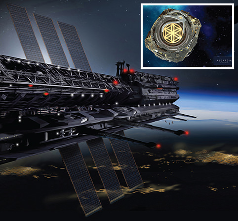 The first SPACE NATION: 'Asgardia' will defend the Earth against asteroids