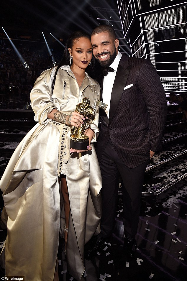 It's over: Drake and Rihanna (pictured August) have reportedly split with the rapper already moving on with someone new