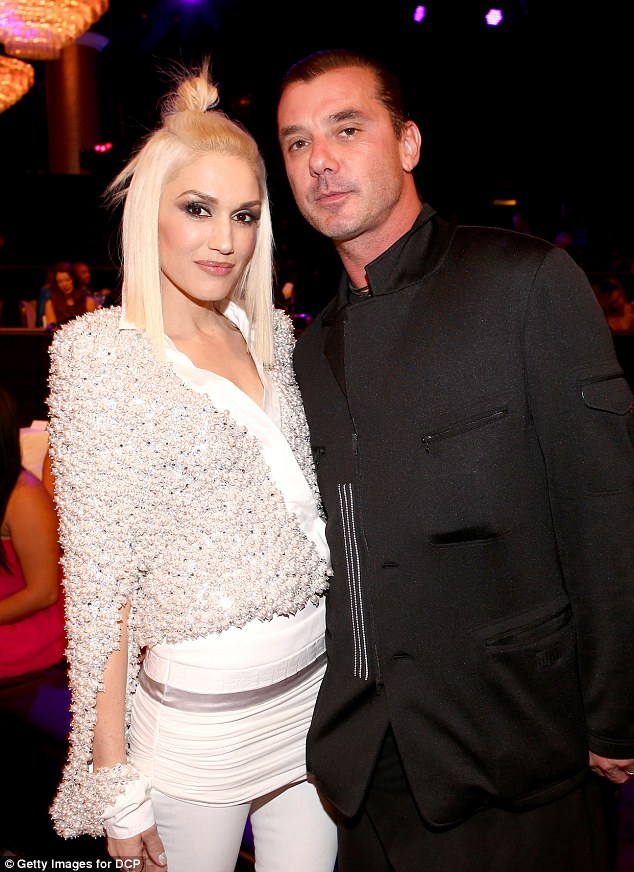 Tough times: 'Even though that year was challenging, it was also one of my favorite things that ever happened to me,' Gwen told the magazine. She and Gavin Rossdale were married for 13 years before they split last year after reports of his infidelity. Photographed in 2014