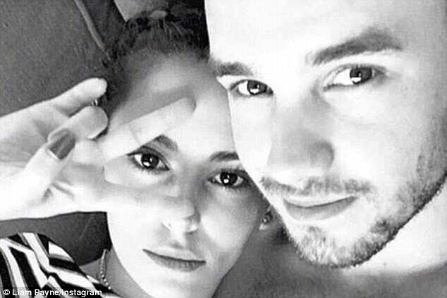 Confirming the romance: Before the outing, Cheryl and Liam had only been seen together on social media (seen here in the post that confirmed their romance, from February)