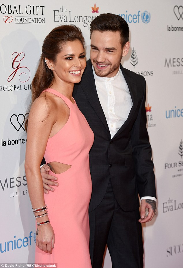 Happy couple: Cheryl and Liam (here in May) are said to have been dating since December