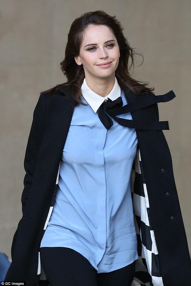 Back in London: Felicity's film arrives in cinemas on Friday