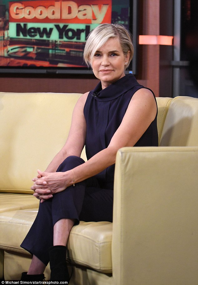 On-the-go: Yolanda Foster appeared on Good Day New York on Tuesday morning to talk about the Global Lyme Alliance Dinner