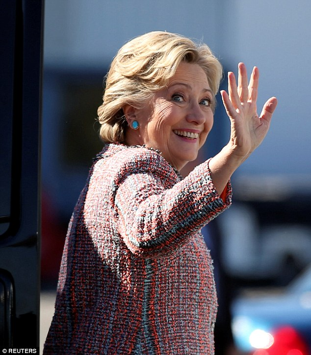 She has CB's vote: The looker also said she is voting for Hillary Clinton for President of the US