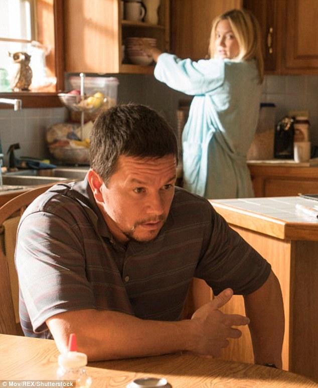Fine company: In her latest flick Deepwater Horizon plays Felicia Williams alongside Mark Wahlberg
