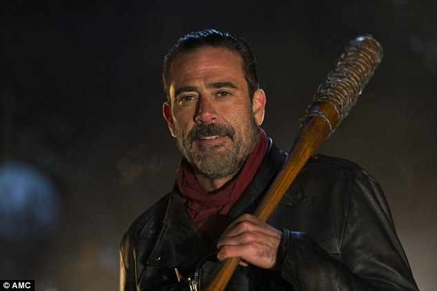 Hit a double? Jeffrey Dean Morgan has hinted Negan will claim a second life in The Walking Dead's brutal season premiere