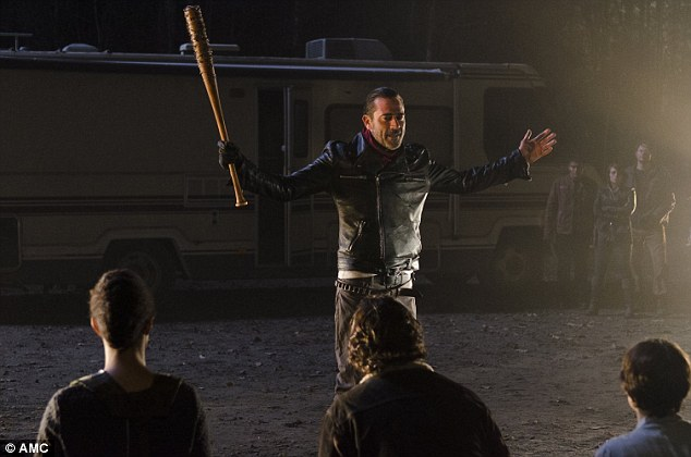 Not done: In an interview with Den Of Geek , the actor revealed: 'Negan's not just going to kill one person in [the premiere]. He's not afraid of bashing in skulls.'