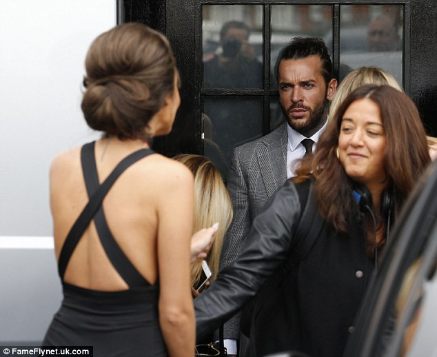 That's awkward! Megan did her very best to ignore Pete as she arrived at the venue, despite the long-haired lothario gazing intently at her