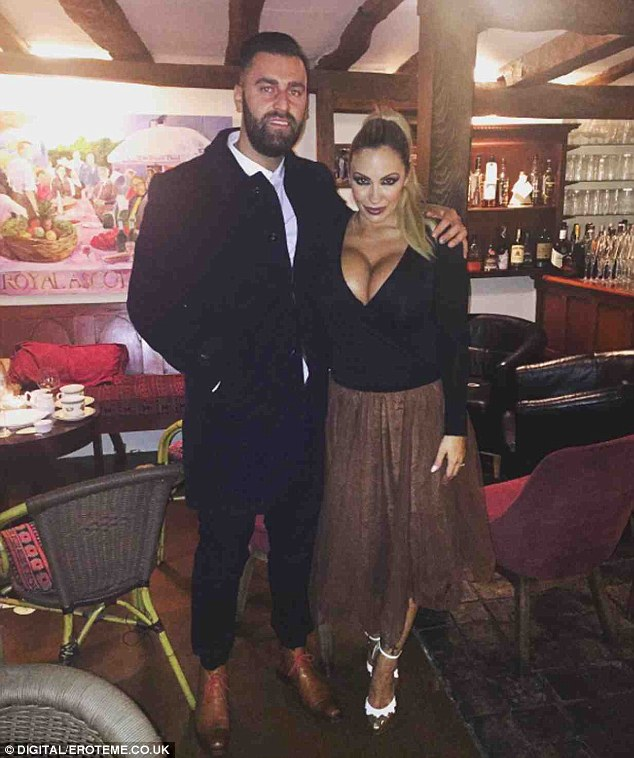 Strong words: Jodie Marsh claims her ex-husband James Placido 'owes thousands of pounds to her father', in a new statement