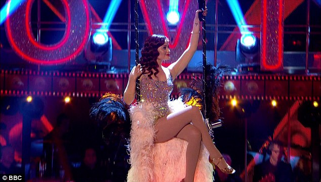 Oh the glamour: This year, the show features Laura Whitmore (pictured), Daisy Lowe and, until he quit on Tuesday night, Will Young