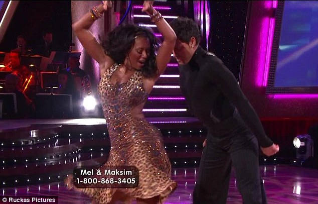 Fellow performers: Her former bandmates Mel B was featured on Dancing With The Stars a few years ago
