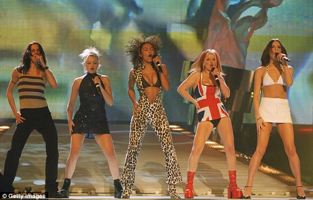 Turning down:Mel C (left) recently turned down the opportunity to reform The Spice Girls with (from left) Emma Bunton, Mel B, Geri Horner and Victoria Beckham