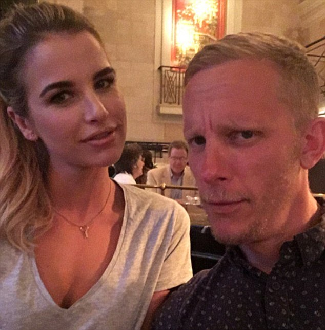 New romance? Vogue Williams has previously denied that there's anything going on between her and actor Laurence Fox, but the two have reportedly been enjoying a secret romance
