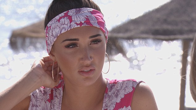 Guilt watch!Prior to her latest blazing row, when Megan discovered the news of the sexts she was seen shaking her Rolex birthday gift in the TV hunk's face, saying it had 'guilt written all over it'
