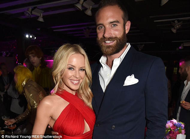 The waiting game: Joshua Sasse has revealed he hopes he won't have to wait too long to marry Kylie Minogue, after vowing the pair won't wed until same-sex marriage is legal in Australia