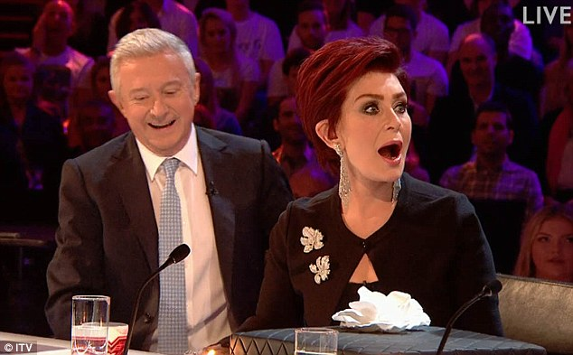 Smiling through it! Sharon - who was celebrating her birthday on Sunday - laughed off the jibe, which offered a level of ambiguity for viewers