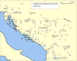 Map of Prehistoric Sites & Cultures Illyrian v1 (English).jpg