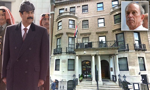 Saddam Hussein built torture dungeon and execution chamber in heart of NYC