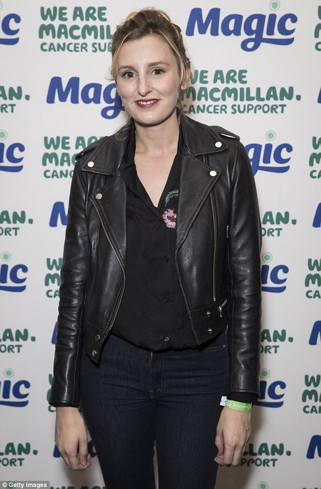 The British actress, 30, looked every inch the modern girl-about-town as she hit the red carpet for the Gregory Porter Magic FM performance in aid of MacMillan Cancer Support.