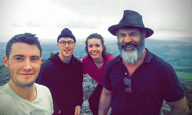 Surprise! Three hikers came across Mel on the summit of Wicklow Mountain at the weekend