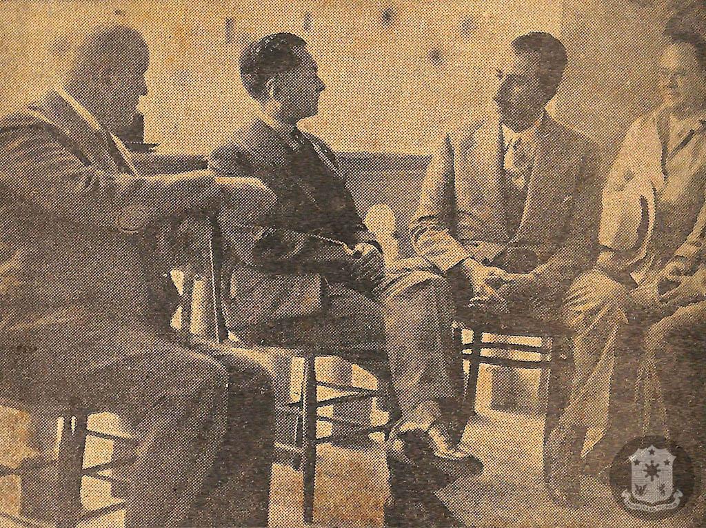 1937 President Quezon visited Mexico