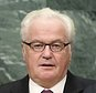 Russian Ambassador to the United Nations Vitaly Churkin makes a statement during the appointment of the Secretary-General designate, Antonio Guterres of Portugal, at United Nations headquarters, Thursday, Oct. 13, 2016. (AP Photo/Seth Wenig)