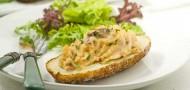 Gluten Free Vegan Horseradish Twice Baked Potatoes