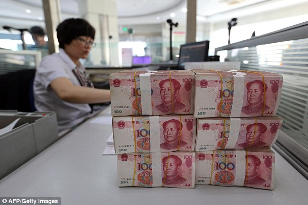 Cheap credit: China is relying on borrowing to stimulate its slowing economy
