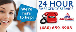 AC 24hour emergency service Mesa Chandler