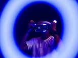 A man plays a Sony Playstation virtual reality game at the annual Ani-Com show in Hong Kong on July 29, 2016 ©Anthony Wallace (AFP/File)