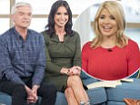 EDITORIAL USE ONLY. NO MERCHANDISING Mandatory Credit: Photo by S Meddle/ITV/REX/Shutterstock (6341441cm) Alan Carr, Phillip Schofield and Christine Lampard 'This Morning' TV show, London, UK - 17 Oct 2016 ALAN CARR LETS US INTO HIS OH-SO SHOWBIZ WORLD - 6?00