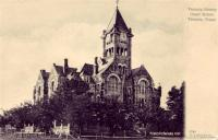 Victoria County Courthouse, Victoria, Texas 1900s